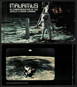 Mauritius Tenth Anniversary of Moon Landing Space Booklet 1979 MNH SG#SB4