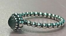 PANDORA | Birthday Blooms Moonstone Ring 190854MSG June Retired RARE 58 60