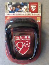 Full90 Performance Soccer Headgear Premier Black Small/Med, New in Package