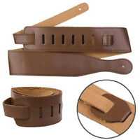 Adjustable Soft PU Leather Thick Guitar Strap For Electric Acoustic Guitar Bass