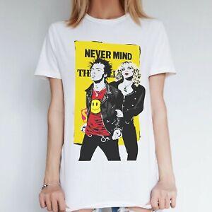 Womens Sex Pistols 70s Punk Inspired Top, Never Mind the Bollocks Grunge T Shirt