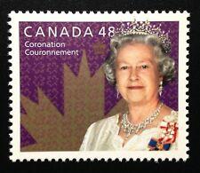Canada #1987 MNH, 50th Anniversary Coronation of Queen Elizabeth II Stamp 2003