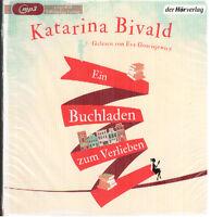 Katarina Bivald - Ein Buchladen zum Verlieben - Ungekürzt - mp3 (4 CD) - NEU OVP