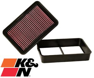 K&N REPLACEMENT AIR FILTER FOR MITSUBISHI ASX XA 4B11 2.0L I4 TILL 01/2012