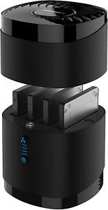 Hard Drive Docking Station USB 3.0 4 Bay 2.5 In SSD Fan Tool Free Installation