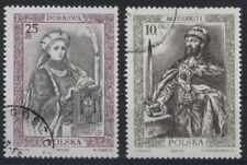 "3) Polen 1986 "" Bildchronik polnischer Herrscher""( I )Kat.Fi.Nr:2918-9gest.(516)"