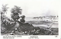Isle of Wight Postcard - Bembridge from St Helens   X636