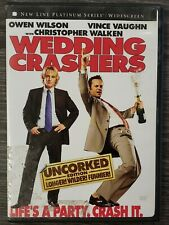WEDDING CRASHERS - UNCORKED EDITION - 2006 DVD