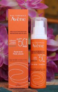 Avène Sun Care Tinted Fluid SPF 50+ For Sensitive Skin 50ml.