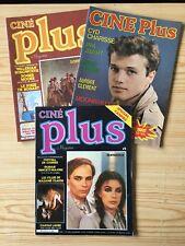 Lot 3 CINE PLUS 1979/80 Farrah FAWCETT Carole LAURE Cyd CHARISSE Roger MOORE ...