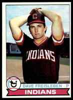 1979 TOPPS BASEBALL SET BREAK DAVE FREISLEBEN CLEVELAND INDIANS #168