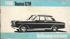 FORD TAUNUS 12m 1965 1966 manuale di istruzioni p4 manuale d'uso BA