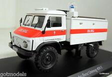 Schuco 1/43 Scale 450339600 Mercedes Benz Unimog 404S TLF8 DLRG diecast model