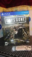 NEW DAYS GONE COLLECTORS EDITION BOX SET SEALED (PS4 PLAYSTATION 4) BRAND NEW