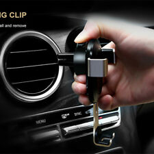 Adjustable Metal Car A/C Vent Phone Mount Clip Holder for Samsung iPhone Nexus