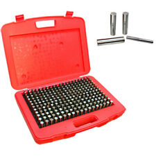 Pin Gage Set Of 250 Pcs 0251 0500 Inch 00002 Inch Minus Accuracy