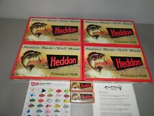 Heddon Fishing Lures 1St Punkinseed #9630 Collection (50) Special Order Colors