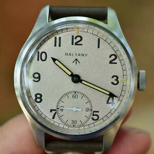42 Seagull ST3600 Retro Manual winding Men Watches Stainless Bubble mirror Watch