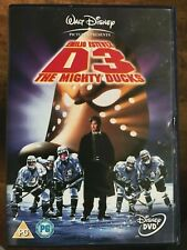 D3 die Mighty Ducks 3 DVD Walt Disney Ice Hockey Family Comedy W / Emilio