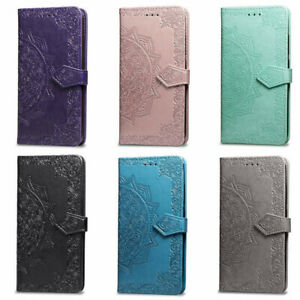 Leather Folding Phone Case Cover Wallet Card Holder For iphone 12 Mini Pro Max