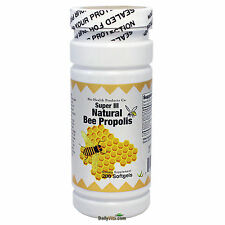 Super Natural Brazil Bee Propolis 200 Softgels Fresh, Made In USA, Global Ship