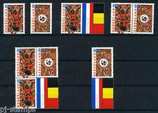 Nederland Alle unieke combinaties uit postzegelboekje 60 cat waarde € 9,10