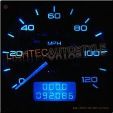 PEUGEOT 306 BLUE LED DIALS SPEEDO DASH CLOCKS INTERIOR UPGRADE KIT GTI-6