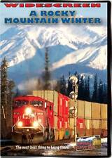 Rocky Mountain Winter Canadian Pacific in the Rocky Selkirk Mtn NEW DVD Highball