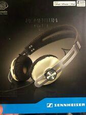 Sennheiser Momentum On Ear Wired Headphones M2 OEi Ivory for Apple