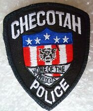 Patch- Checotah US Police Patch (NEW*)