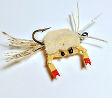 CRAB FLIES         3 Colors   Olive-Tan-Cream          Size 2 and 4