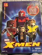 X MEN Diamond Toys Minimates 4 Pack Figures With  Darktide DVD Movie NEW SEALED!