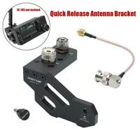 Quick Release Antenna Bracket Holder For ICOM IC-705 Portable Shortwave Radio