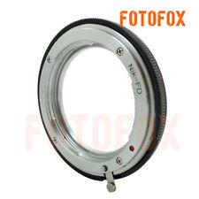 Nikon-FD For Nikon F mount AI Lens to Canon old FD mount adapter AE-1 camera