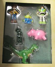 NEW Disney Pixar Toy Story Woody Buzz Lightyear Storybook 6 Piece Ornament Set