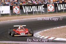 Niki Lauda Ferrari 312 T2 ganador alemán Grand Prix 1977 fotografía