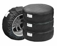 "Set of 4 Spare Wheel Protective Cover Tyre Tire Storage Bag 13"" 14"" 15"" 16"""