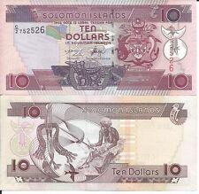 ISLAS SALOMON BILLETE 10 DOLLARS 2006 PICK 27
