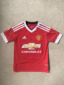 Man Utd, Manchester United Football Shirt, Age 7-8yrs