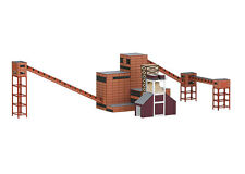 Trix Minitrix 66314 N Gauge Building Kit Colliery Zollverein Coking Plant 2 #