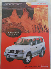 TOYOTA Land Cruiser Colorado GX 5 PORTA Trail Pack Accessori BROCHURE c2000's