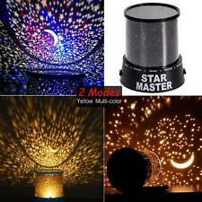 Romantic TRD Cosmos Star Master Sky Starry Night Projector Bed Wall Lamp Gift UP