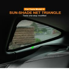 Car Window Sunshade For Tesla Model 3 Sunshade Accessories Triangle Sun Shade