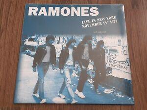 RAMONES - LIVE IN NEW YORK 1977 180g LP ORANGE VINYL NEW SEALED