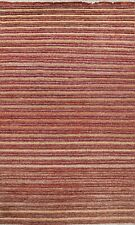 Contemporary Geometric Gabbeh Oriental Area Rug Modern Hand-knotted Wool 5x8 new