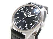 Auth IWC Mark 16 IW325501 Schwarz Herren Armbanduhr 3597155