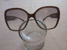 Chanel Sonnenbrille neu sehr groß Fassung grau Gläser 30% grau