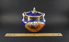 Antique English Japan Imari Porcelain Potpourri Jar Pierced Lid 18th/19th C