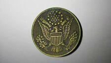 Antique/Vintage 1902 U.S.A. E Pluribus Unum Insignia Screwback/Pin-Us Military