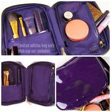 TARTE Limited Ed. Purple Cosmetic Makeup Travel Bag Case Box for Palette & Brush